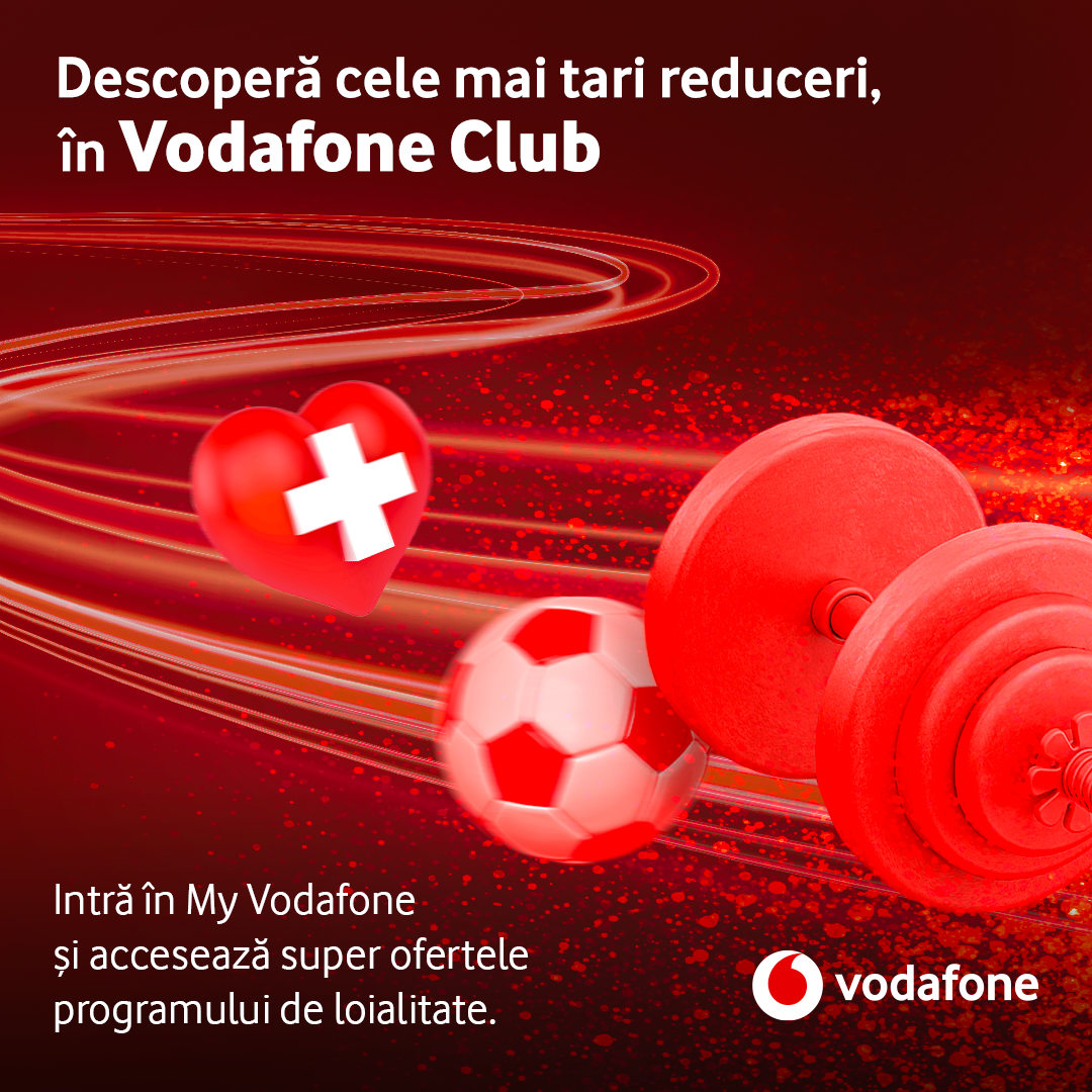 VODAFONE CLUB, the new loyalty program for customers