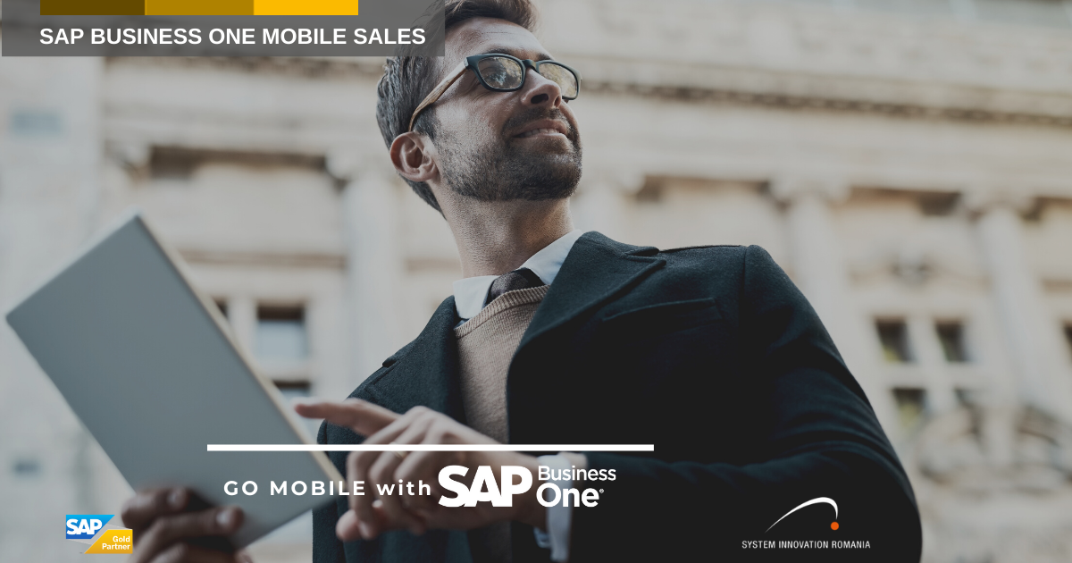 SAP Business One Sales, the ideal application for sales employees