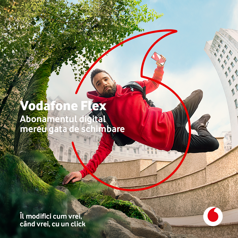 Vodafone Romania launches Flex, the first full-fledged digital subscription on the market