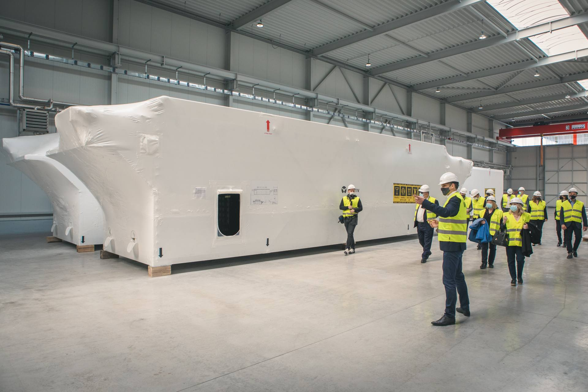 New Vertiv factory  opens in Croatia with an investment of 10 million Euros!