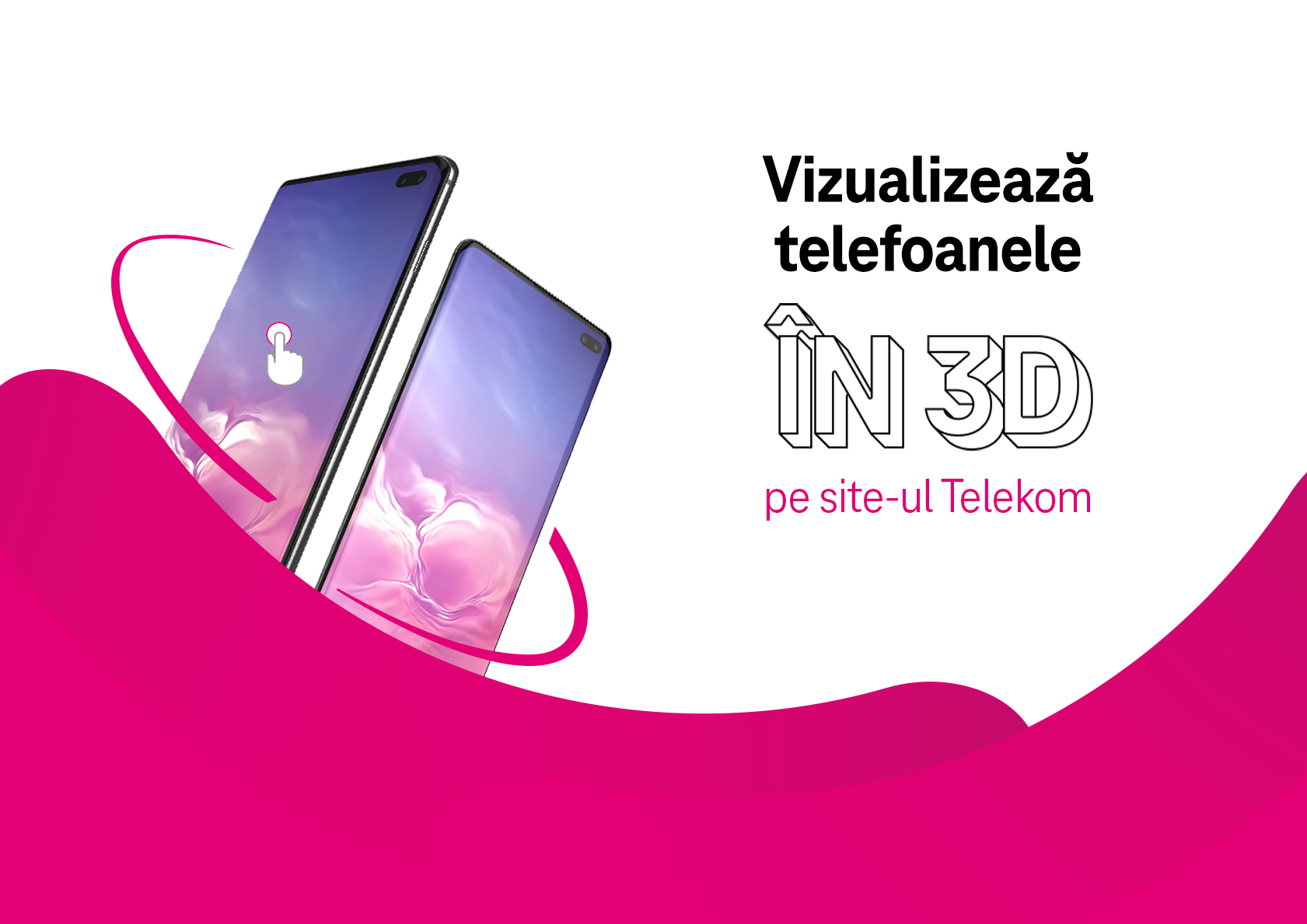 Telekom Romania introduces, for the first time, the 3D preview of the phones on www.telekom.ro