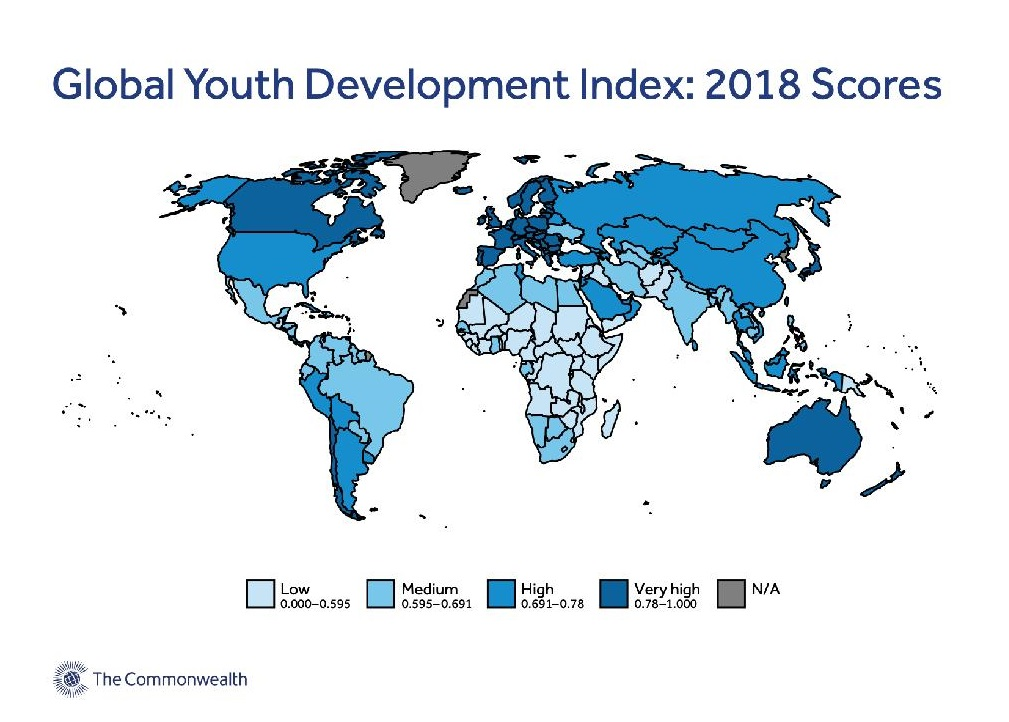 Slovenia leads in Europe on the 2020 Global Youth Development Index