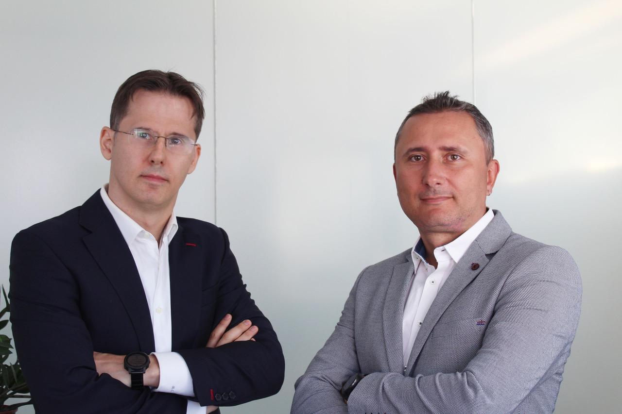 Mihai Ghita(stânga) și Cristian Badea, Fondatori Sypher